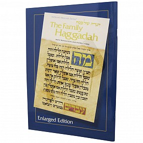 The Family Haggadah - Enlarged Size