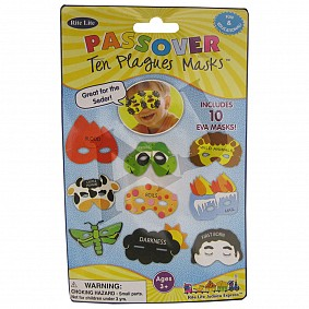 Passover Ten Plagues Masks