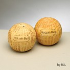 Matzah Ball Salt and Pepper Shakers
