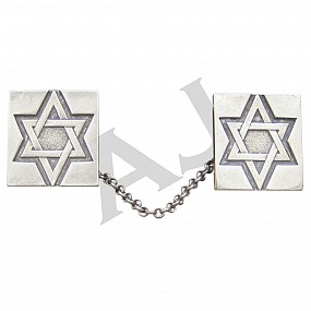 Tallit Clip - Star of David