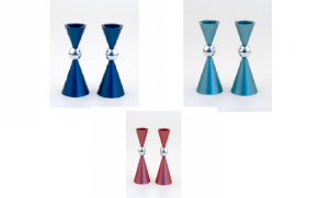 Agayof Candlesticks - Ball Design - Small
