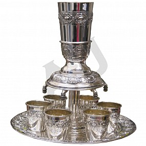 Silver Plated Wine Fountain