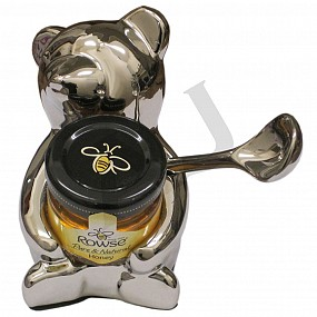Bear Honey Jar Holder & Spoon