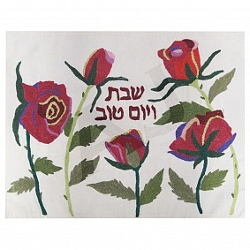 Challah Cover - Roses
