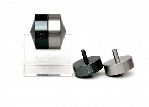 Double Magic Aluminium Dreidel