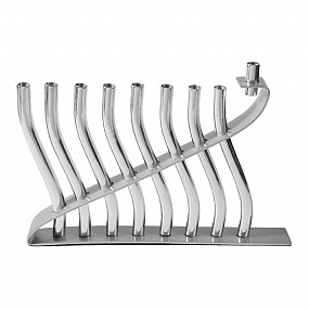 Emanuel Sticks Menorah - Silver