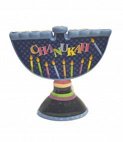 Ceramic Menorah