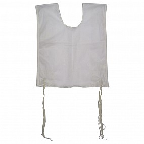 Round Neck Mesh Tzitzit with Strings