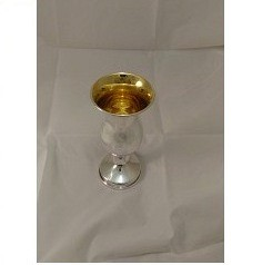Sterling Silver Kiddush Cup with Stem
