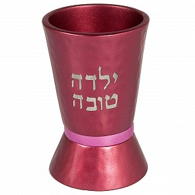 Kiddush Cup for kids - Maroon