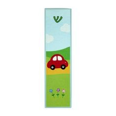 Wooden Mezuzah Case - Car