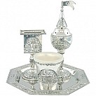 Nickel Havdalah Set - Jerusalem