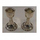 Small Sterling Silver Candlesticks