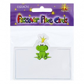 Passover Place Cards - Frogs