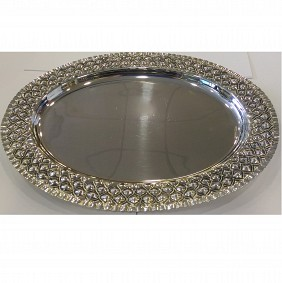 Silver Plated Tray Oval