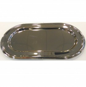Oval Tray - Nickel