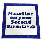 Mazeltov on your Second Barmitzvah