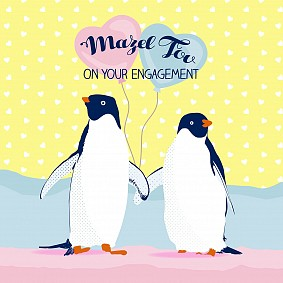 Mazel Tov On Your Engagement (Penguins)