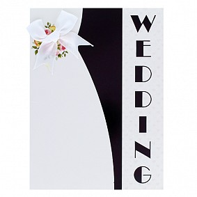 Wedding (white bow)