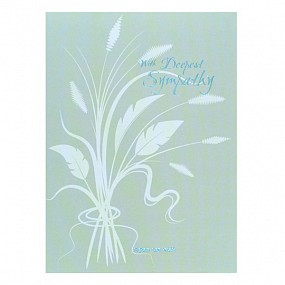 With Deepest Sympathy - Green Design