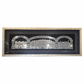 Golden Jerusalem - Gold Plated Framed Picture