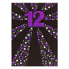 12 - Bat Mitzvah Card