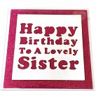 Happy Birthday to a lovely sister