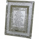 English Home Blessing - Glass Frame