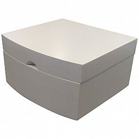 Jewellery Box - White Wood