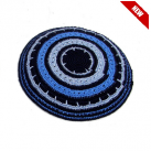 Blue Tones Knitted Kippah