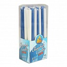 Chanuka Candles - Blue & White
