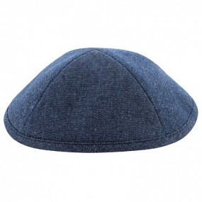 Denim Kippah Blue