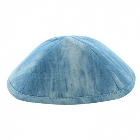 Denim Kippah Light Blue
