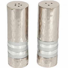 Emanuel Salt & Pepper Set - Silver Rings