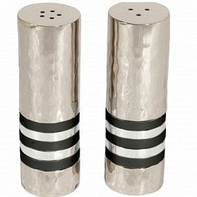 Emanuel Salt & Pepper Set - Black Rings