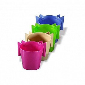Plastic Washing Cup small - assorted colours
