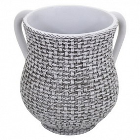 Polyresin Wash Cup - Grey