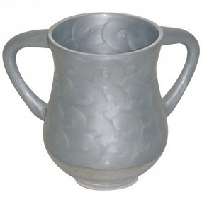 Elegant Washing Cup - Light Grey