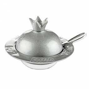 Honey Pot Pomegranate Design - Sparkling Grey