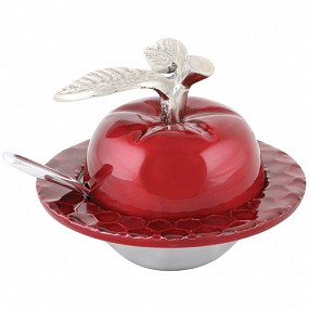 Honey Pot Apple Design - Red
