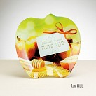 Glass Apple Plate
