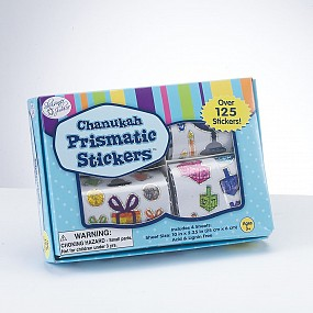 Box of Chanukah Stickers