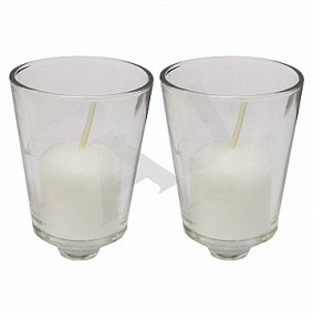 Two glass holders
