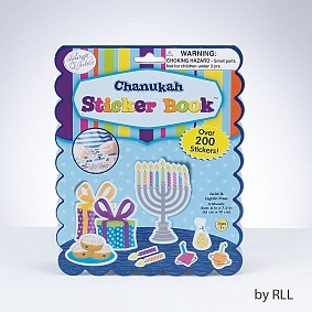 Chanukah Sticker Book