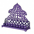 Laser cut Menorah