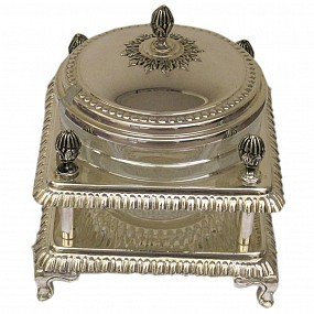 Sterling Silver Honey Pot