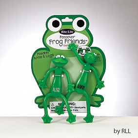 Passover Frog Friends Bendi & Flexi