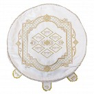 Matzah Cover -  Gold Embroidery