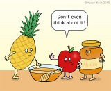 Poor pineapple....