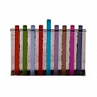 Chanuka Menorah  Long Branches Multi colour